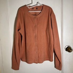 Vintage Micro Fleece Cardigan